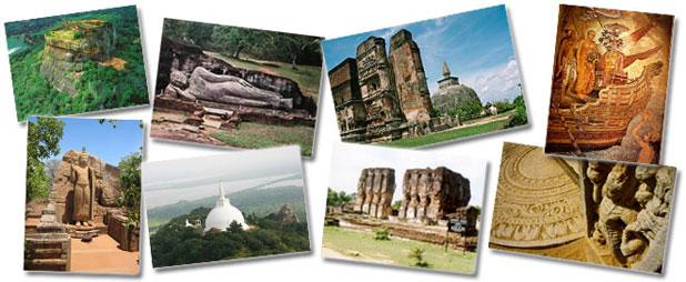 Sri Lanka historical places